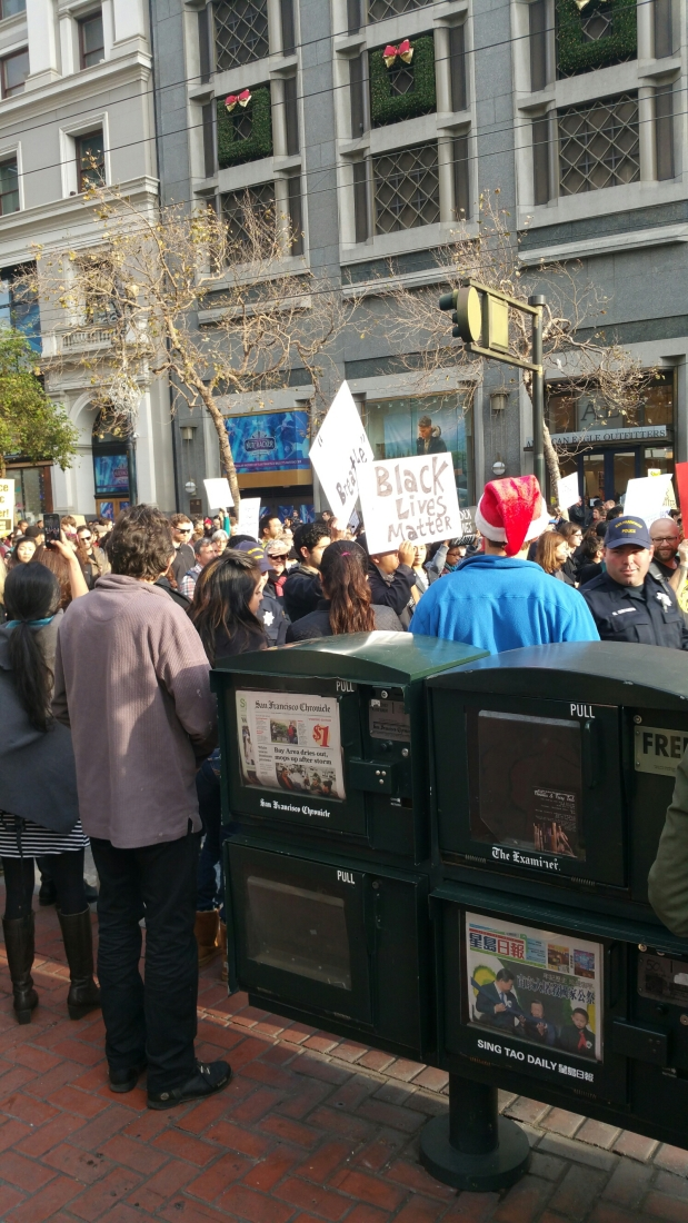 Huge San Francisco Protest